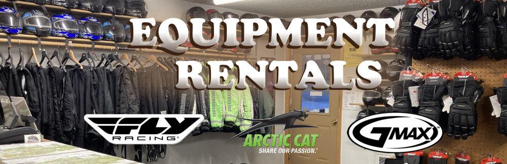 Black Hills Snowmobile Equipment Rental