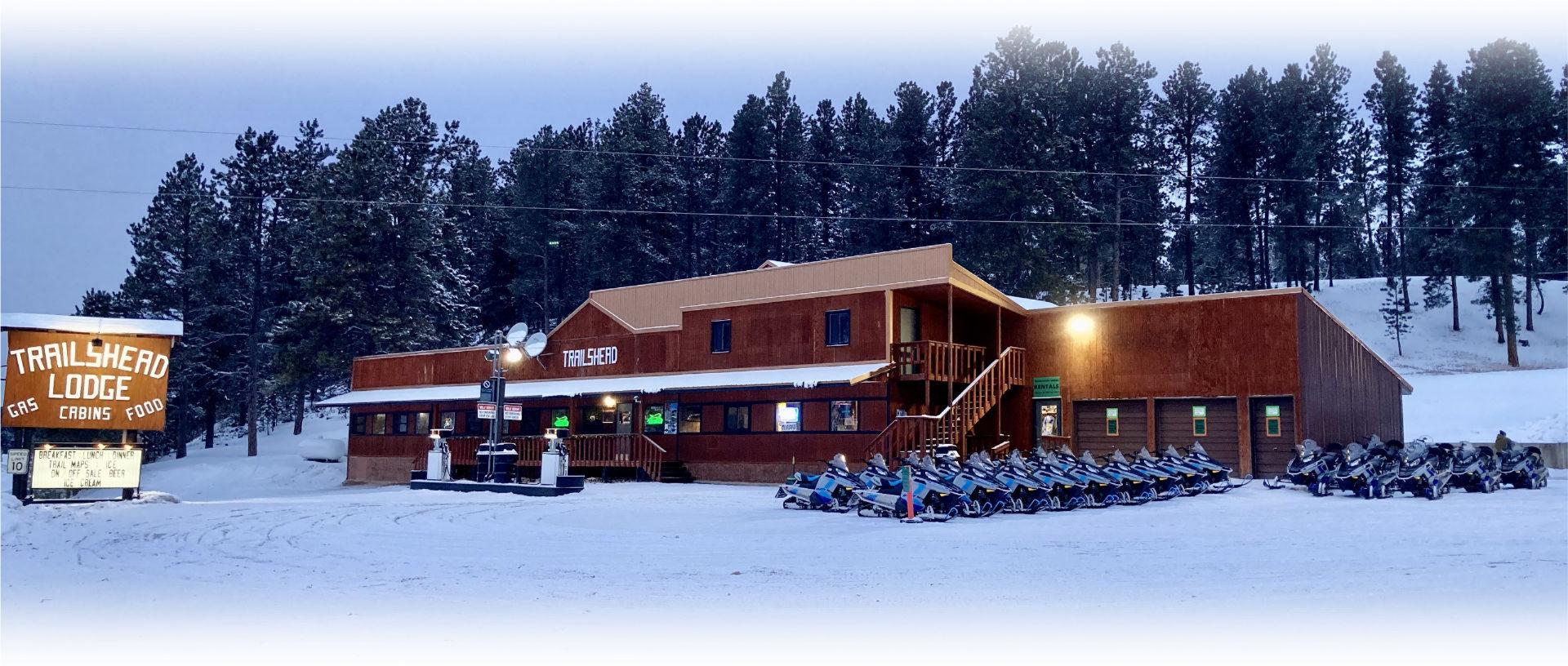 Trailshead Lodge Snowmobile